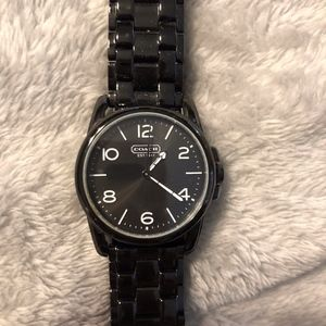 Coach Sydney Women's Watch - Black Stainless Steel